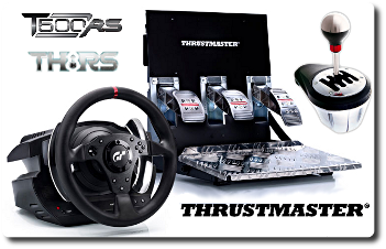 Thrustmaster T500 RS y TH8 RS